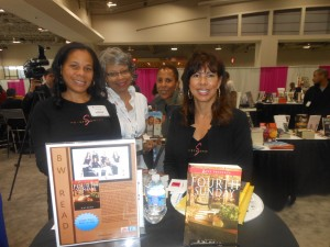 "Chyla Evans and a few of her fellow writers, who make up ""B.W. Read"""