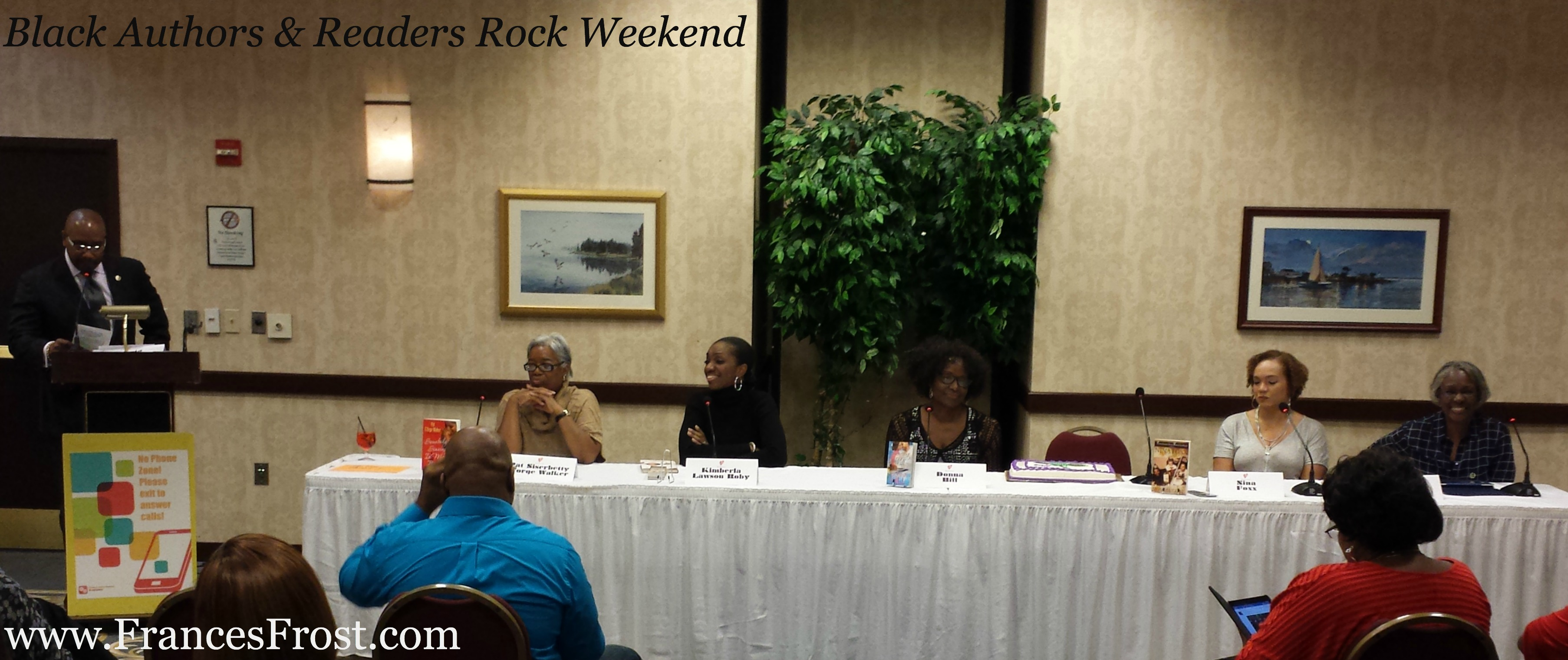 Black Authors & Readers Rock Weekend - Literary Trailblazers