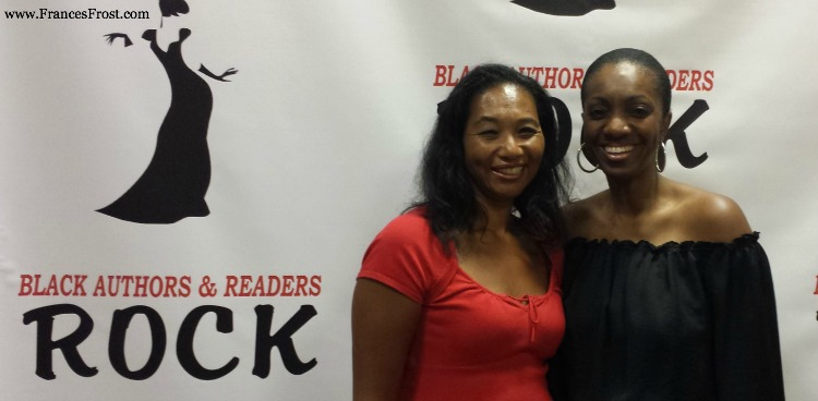 Frances Frost with NYT Best-selling Author, Kimberla Lawson Roby